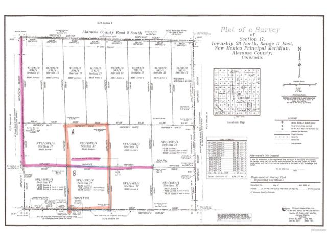 39.94 AC County Road 2 S., Alamosa, CO 81101 (#9532412) :: Ford and Associates