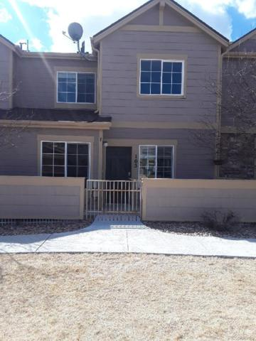 2550 Cutters Circle #105, Castle Rock, CO 80108 (#9532464) :: The Pete Cook Home Group