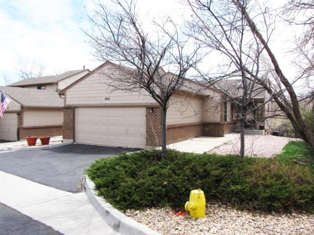 905 Homestake Drive #905, Golden, CO 80401 (#9532944) :: The HomeSmiths Team - Keller Williams