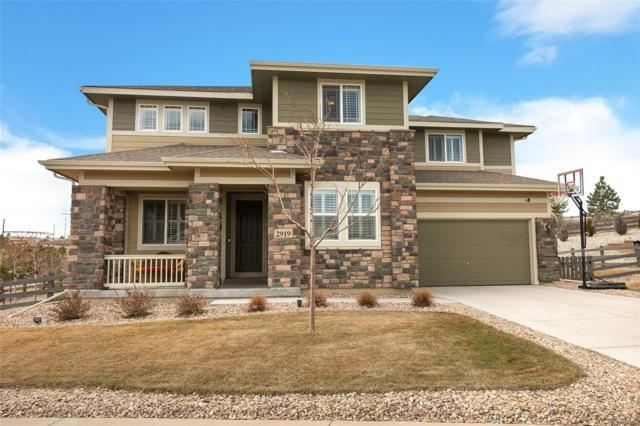 2919 Russet Sky Trail, Castle Rock, CO 80108 (#9533950) :: The DeGrood Team