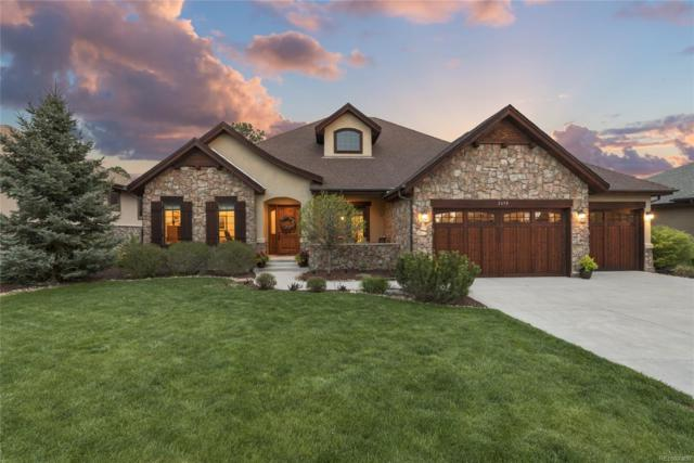 2698 Oak Vista Lane, Castle Rock, CO 80104 (#9537089) :: The HomeSmiths Team - Keller Williams