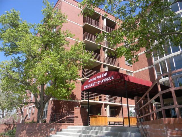5955 E 10th Avenue #310, Denver, CO 80220 (#9537507) :: House Hunters Colorado