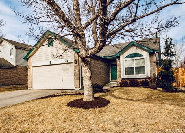 385 W 116th Avenue, Northglenn, CO 80234 (#9538258) :: The Heyl Group at Keller Williams