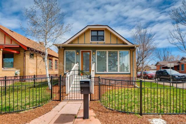 496 S Washington Street, Denver, CO 80209 (#9539234) :: Real Estate Professionals