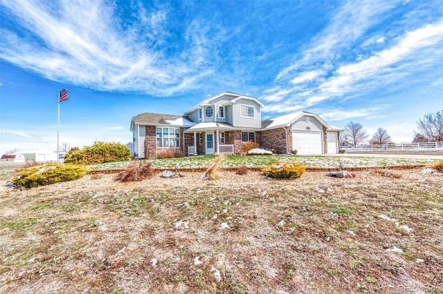28575 E 160th Place, Brighton, CO 80603 (#9539335) :: The DeGrood Team