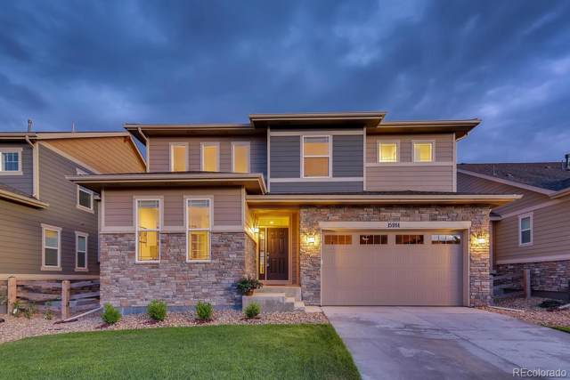 15984 E 117th Avenue, Commerce City, CO 80022 (#9542298) :: The Peak Properties Group
