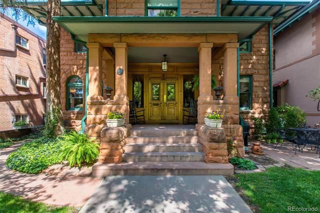 1034 N Logan Street 1N, Denver, CO 80203 (#9549385) :: Briggs American Properties