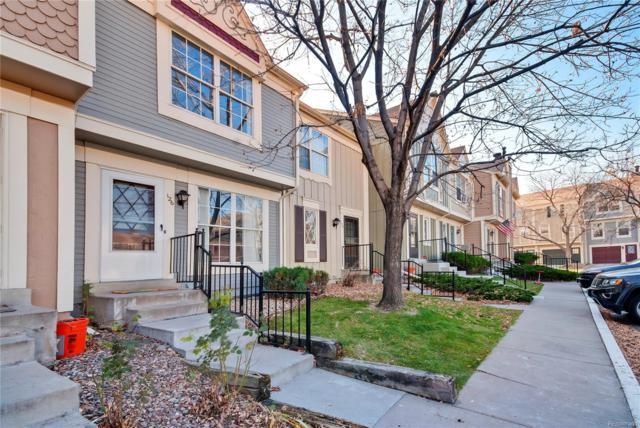 1699 S Trenton Street #126, Denver, CO 80231 (#9549689) :: Sellstate Realty Pros