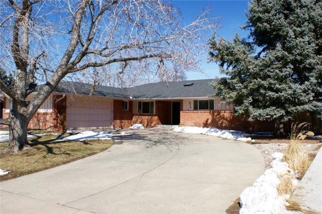 3770 S Hillcrest Drive, Denver, CO 80237 (#9550843) :: My Home Team
