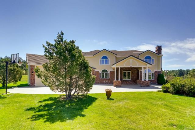 762 Red Deer Road, Franktown, CO 80116 (#9558831) :: The HomeSmiths Team - Keller Williams