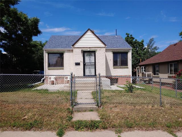 215 S Knox Court, Denver, CO 80219 (MLS #9565666) :: 8z Real Estate