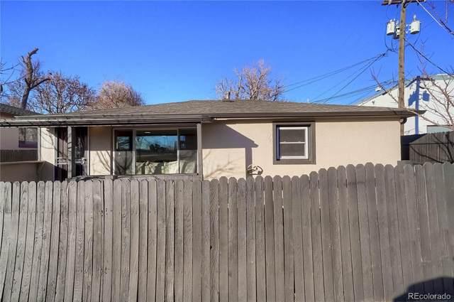 3015 E 40th Avenue, Denver, CO 80205 (#9575336) :: iHomes Colorado