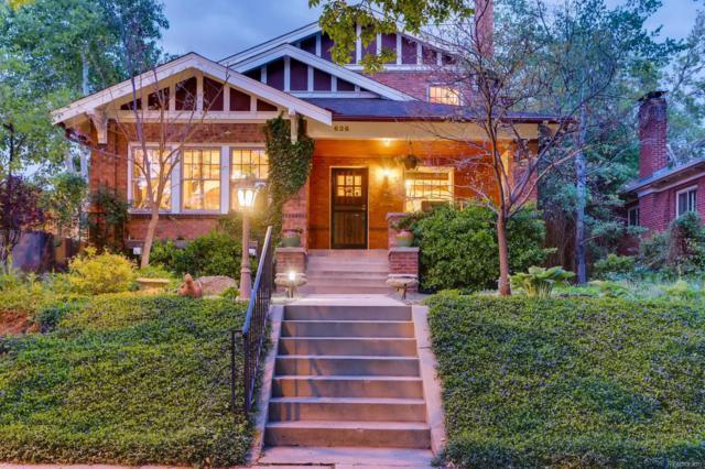 626 Fillmore Street, Denver, CO 80206 (#9577222) :: Wisdom Real Estate