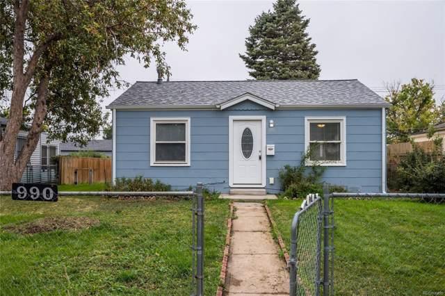 990 Julian Street, Denver, CO 80204 (MLS #9586570) :: 8z Real Estate