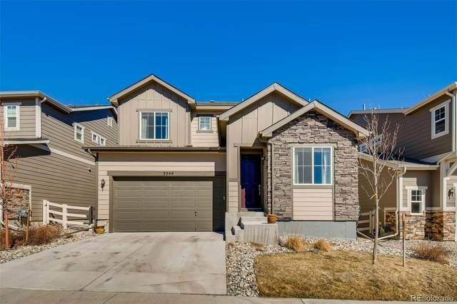 3344 Shoveler Trail, Castle Rock, CO 80104 (MLS #9589260) :: The Sam Biller Home Team