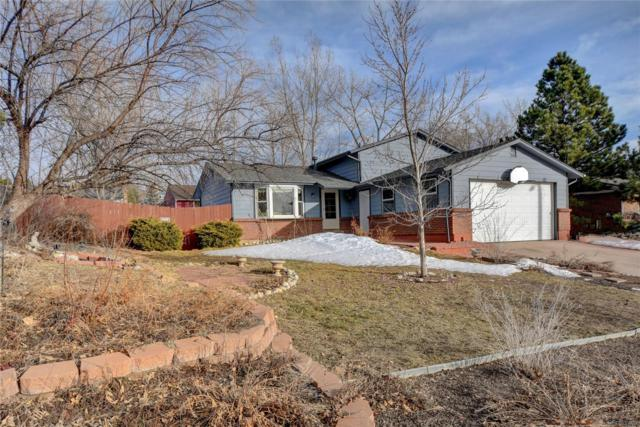 968 Mountain View Drive, Castle Rock, CO 80104 (#9589783) :: The Heyl Group at Keller Williams