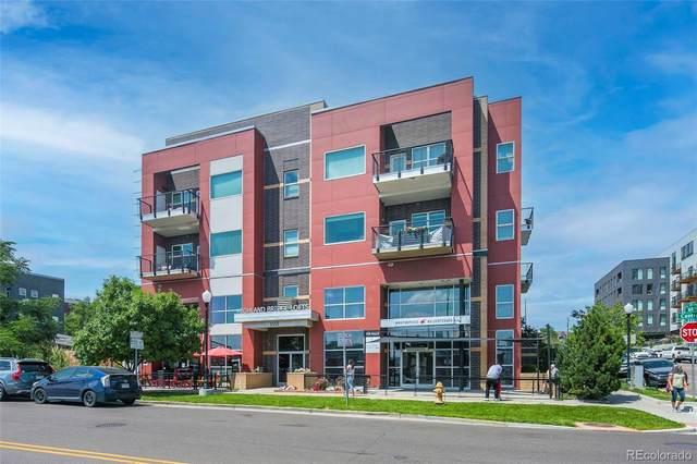 1555 Central Street #209, Denver, CO 80211 (MLS #9590743) :: Bliss Realty Group