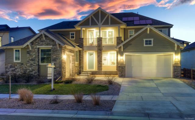 9465 Flattop Street, Arvada, CO 80007 (#9591341) :: The Peak Properties Group