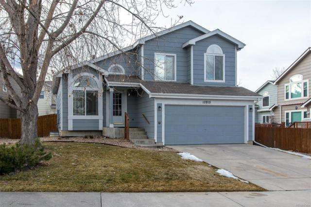 10815 Crooke Drive, Parker, CO 80134 (#9591483) :: The Griffith Home Team