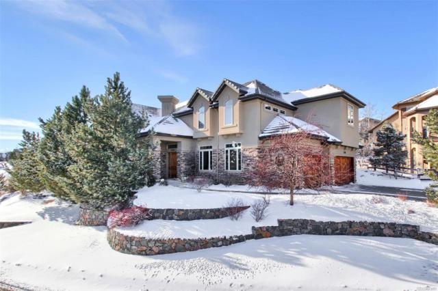1160 Buffalo Ridge Road, Castle Pines, CO 80108 (#9592527) :: Keller Williams Action Realty LLC