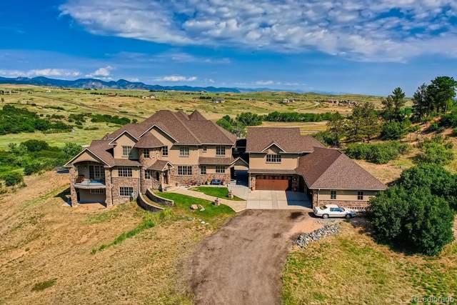4974 Lambert Ranch Trail, Sedalia, CO 80135 (#9593140) :: The FI Team