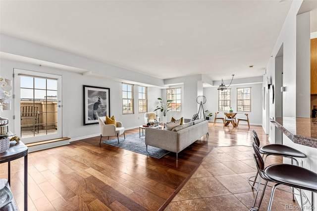 300 W 11th Avenue 8F, Denver, CO 80204 (#9593552) :: Finch & Gable Real Estate Co.