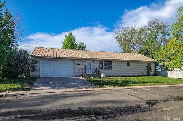 40 Mcdonald Avenue, Brush, CO 80723 (#9595268) :: Berkshire Hathaway HomeServices Innovative Real Estate