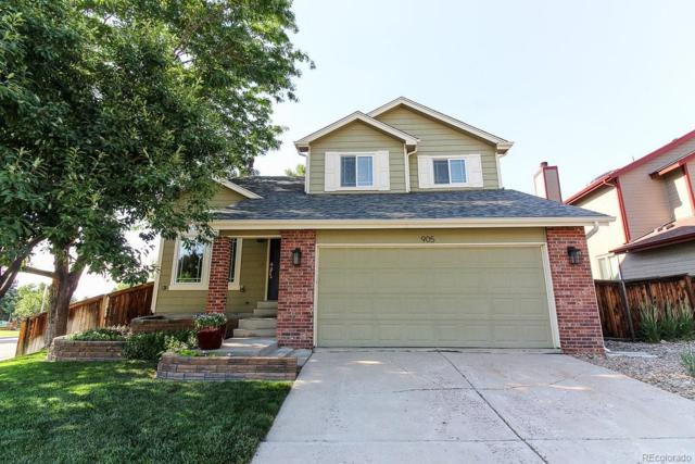 905 Brittany Way, Highlands Ranch, CO 80126 (#9598126) :: My Home Team