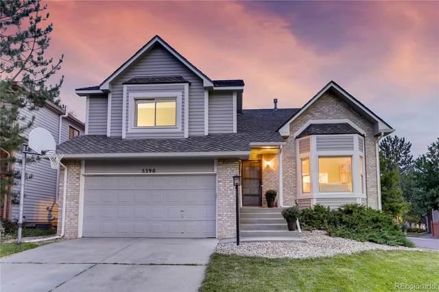 5390 S Olathe Circle, Centennial, CO 80015 (MLS #9599608) :: Neuhaus Real Estate, Inc.