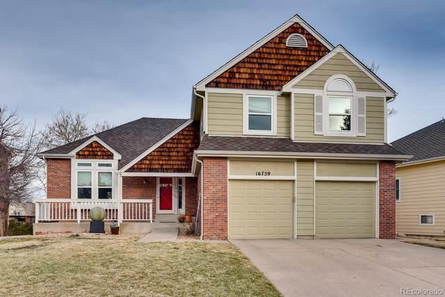 16759 E Prentice Avenue, Centennial, CO 80015 (MLS #9600159) :: Bliss Realty Group