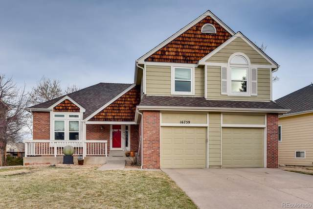 16759 E Prentice Avenue, Centennial, CO 80015 (MLS #9600159) :: Kittle Real Estate