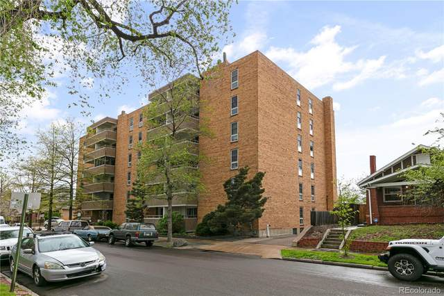 551 Pearl Street #209, Denver, CO 80203 (#9602488) :: The Griffith Home Team