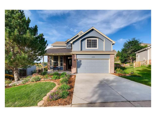 1735 Foxfield Drive, Castle Rock, CO 80104 (#9603043) :: The Peak Properties Group