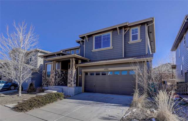 5335 Clovervale Circle, Highlands Ranch, CO 80130 (#9606875) :: The DeGrood Team