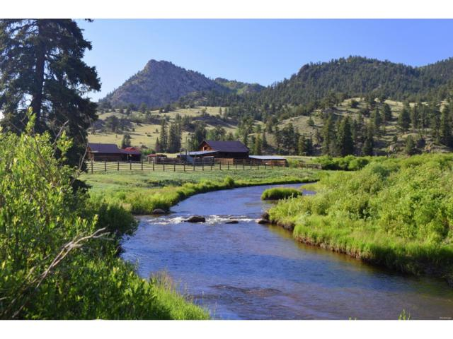 19142 County Rd 77, Jefferson, CO 80456 (MLS #9609142) :: 8z Real Estate