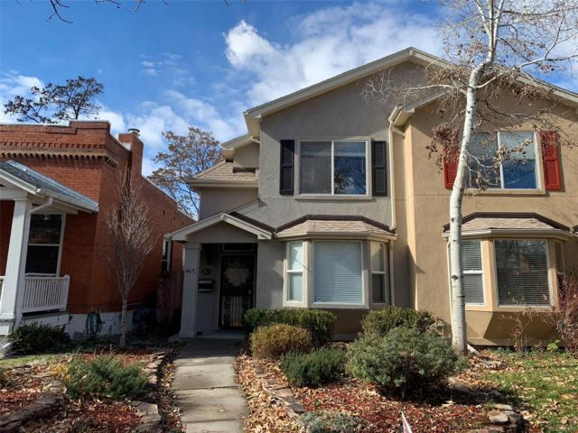 467 N Downing Street, Denver, CO 80218 (#9610959) :: My Home Team