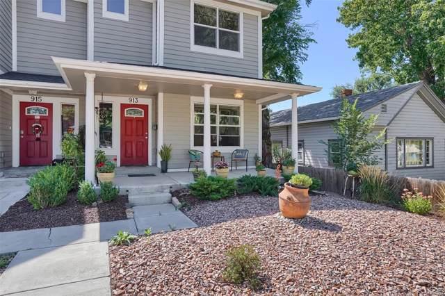 913 E Cimarron Street, Colorado Springs, CO 80903 (#9614712) :: 5281 Exclusive Homes Realty