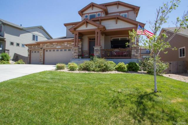 7640 E 123rd Avenue, Thornton, CO 80602 (#9614981) :: Bring Home Denver with Keller Williams Downtown Realty LLC