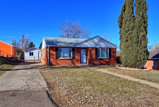 725 S Pecos Street, Denver, CO 80223 (#9619697) :: Sellstate Realty Pros