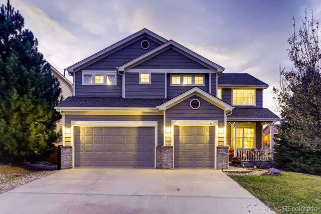 7421 Pyrite Court, Castle Rock, CO 80108 (#9624019) :: The HomeSmiths Team - Keller Williams