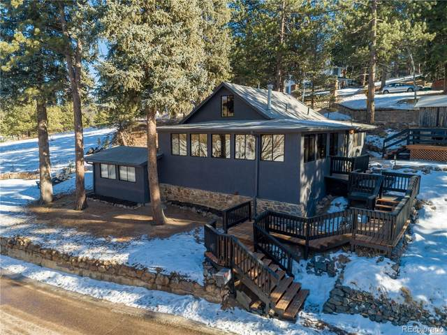 4689 S Blue Spruce Road, Evergreen, CO 80439 (#9631727) :: The Artisan Group at Keller Williams Premier Realty