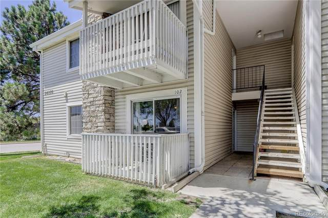 14101 E Jewell Avenue #102, Aurora, CO 80012 (#9632155) :: The Healey Group