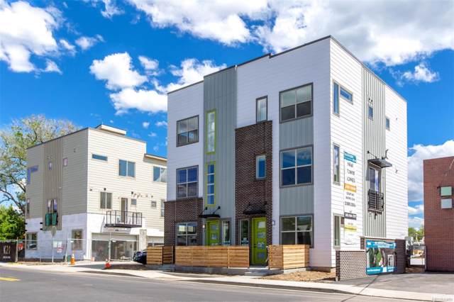 4100 E Iliff Avenue #6, Denver, CO 80222 (MLS #9635196) :: Bliss Realty Group