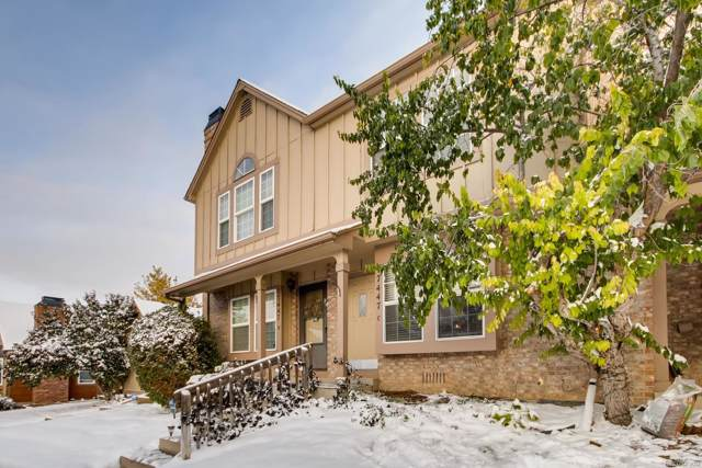 17447 E Rice Circle C, Aurora, CO 80015 (#9637781) :: The Galo Garrido Group