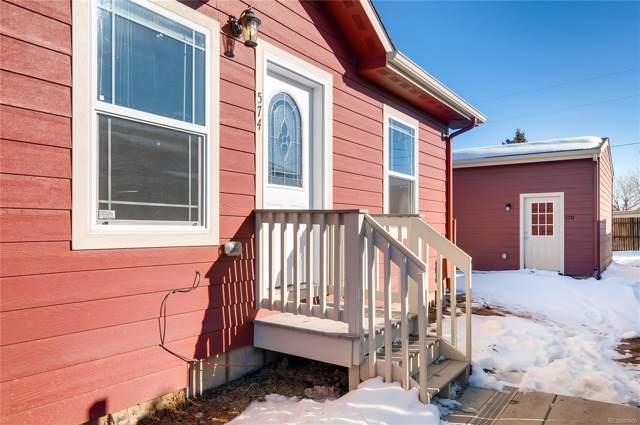 574 4th Street, Bennett, CO 80102 (#9637788) :: The Peak Properties Group