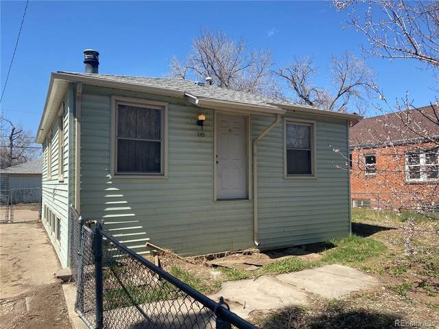 1249 Willow Street, Denver, CO 80220 (#9638556) :: Re/Max Structure