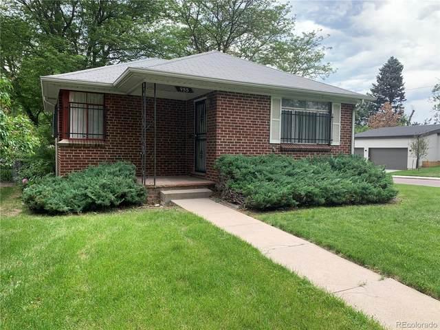 955 N Newport Street, Denver, CO 80220 (#9640907) :: The Colorado Foothills Team | Berkshire Hathaway Elevated Living Real Estate
