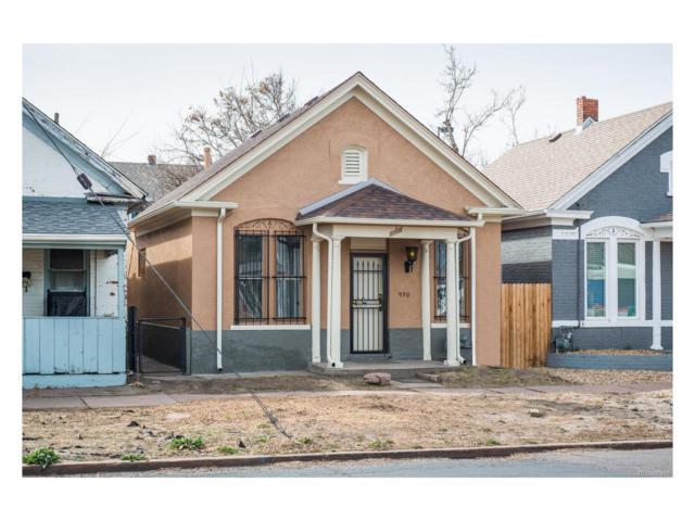 950 W 7th Avenue, Denver, CO 80204 (MLS #9641551) :: 8z Real Estate