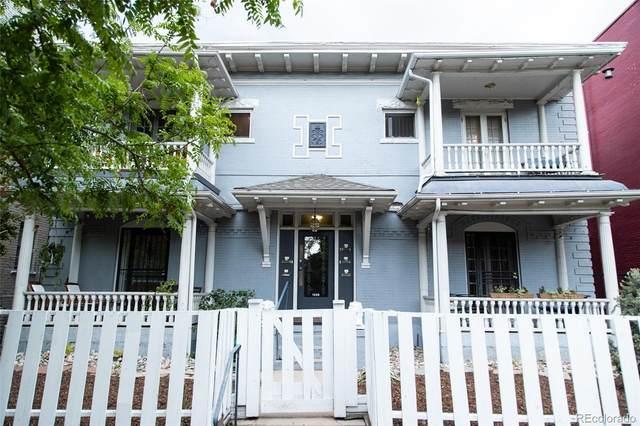 1209 Pearl Street #2, Denver, CO 80203 (#9643323) :: Briggs American Properties