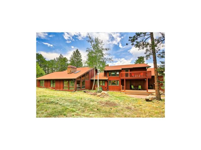 393 Ruby Forest Trail, Evergreen, CO 80439 (MLS #9649460) :: 8z Real Estate